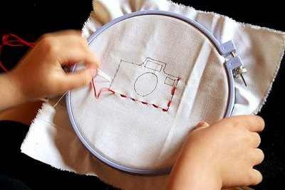 Embroidery by **stina**, on Flickr