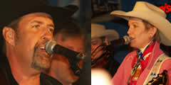 Concert Joni Harms i Billy Yates al Texas Country Bar
