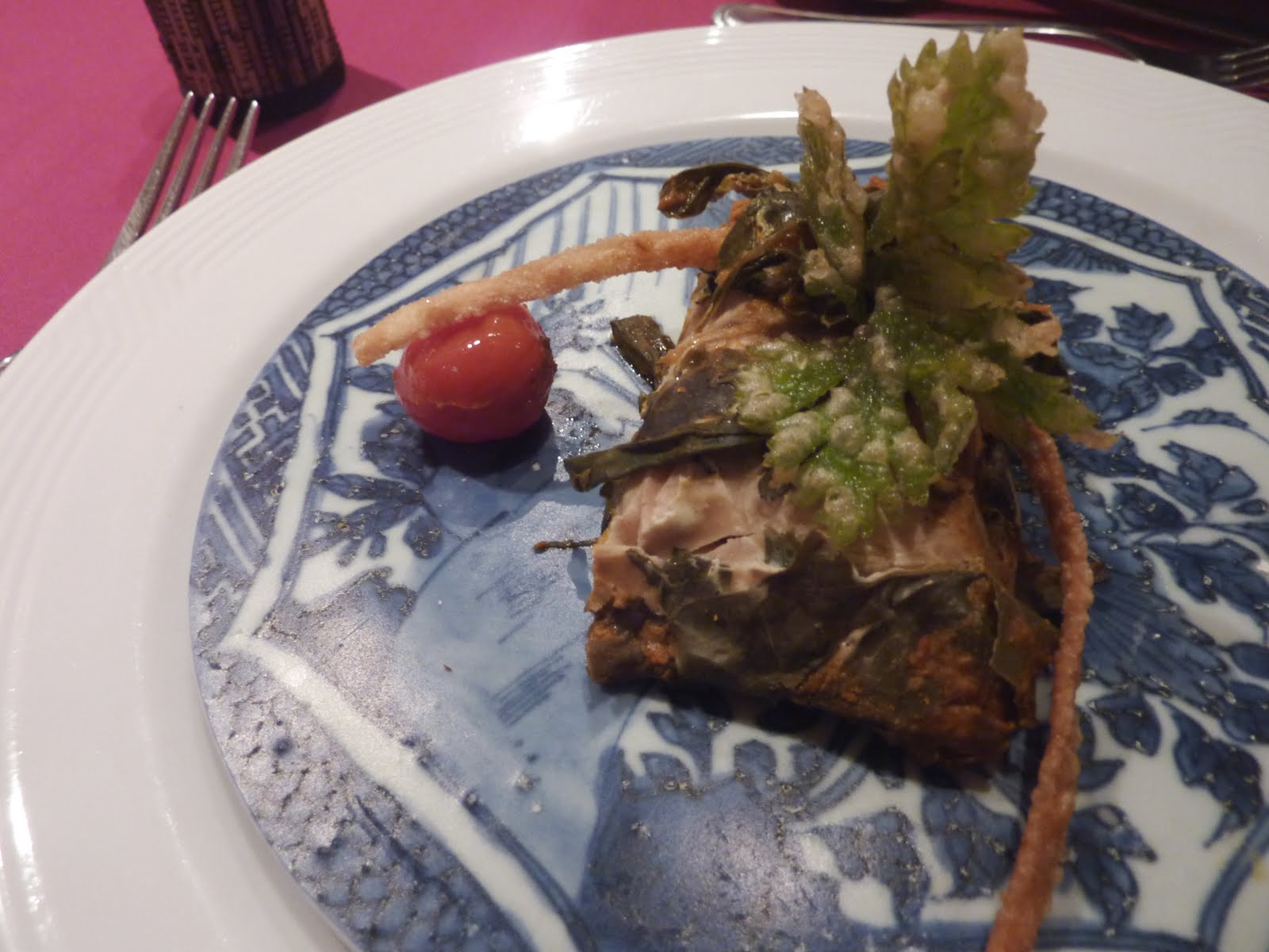 Memoirs of a chocoholic ming treasures bygone flavours for Grilled fish seasoning