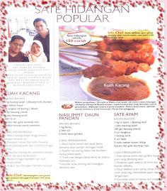 Kelisa Corner @ Majalah Rasa, Sept 2008