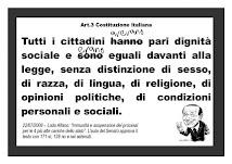 Art 3 della Costituzione Italiana