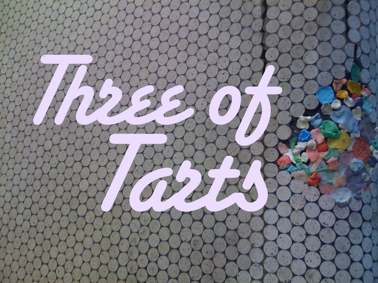Three of Tarts