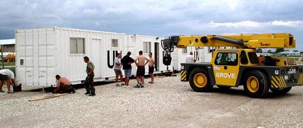Resultado de imagen para Haiti Hospital Militar Reubicable Argentino