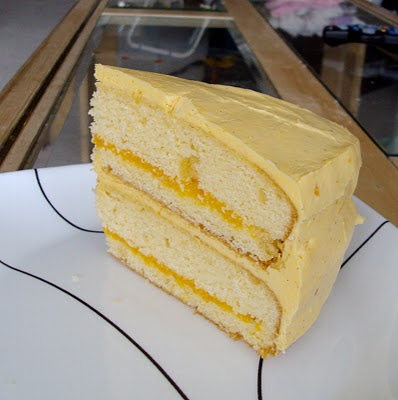 Woody's Lemon Luxury Layer Cake