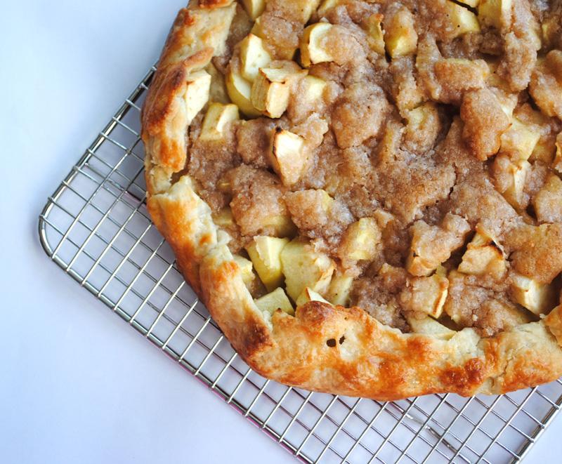 Apple Crostata for Thanksgiving Dinner