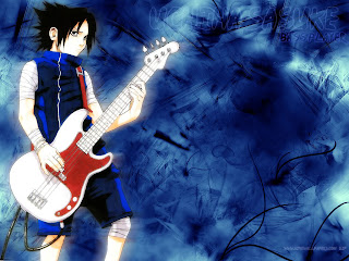 Sasuke main Gitar - Sasuke and Guitar
