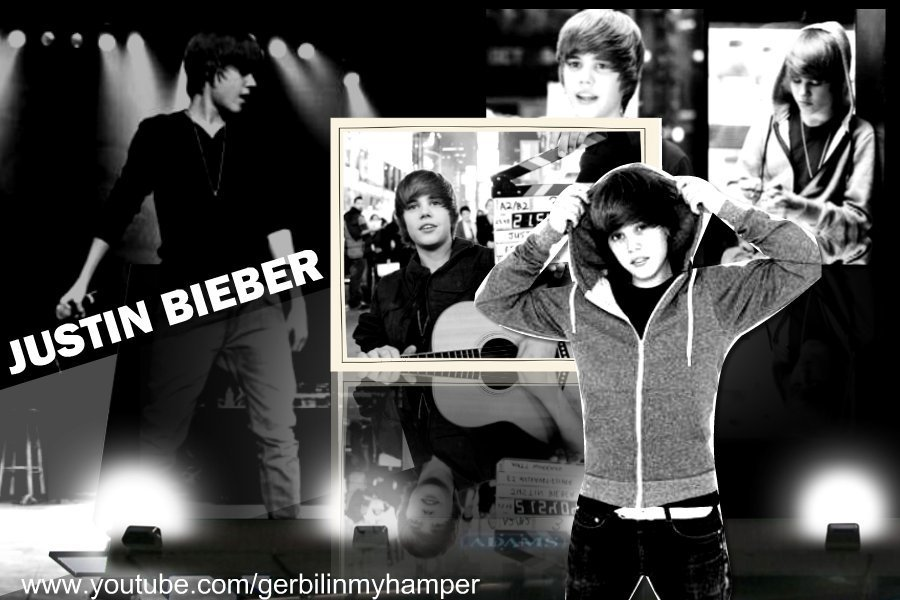 justin bieber collage wallpaper. justin bieber wallpaper 2010
