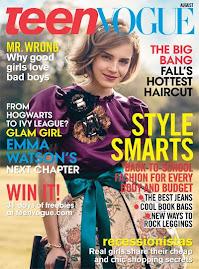 Teen Vogue Agosto 2009-Emma Watson