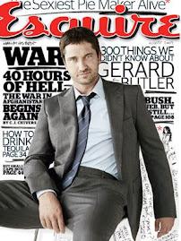 Esquire Agosto 2009- Gerard Butler