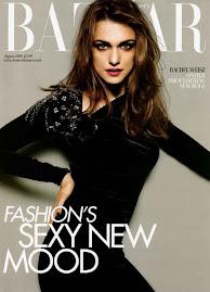 Harper's Bazaar Inglesa Agosto 2009-Rachel Weisz