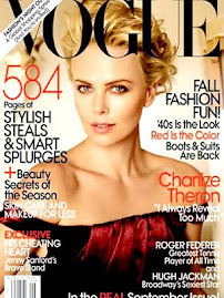 Vogue Americana Set 2009- Charlize Theron