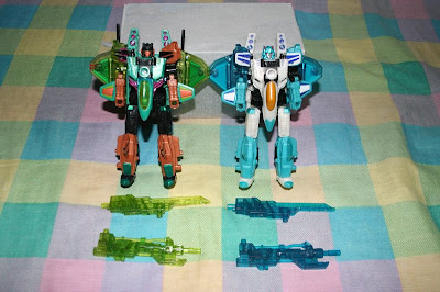BotCon 2009 Skyquake and Leozack