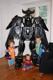 I tre condottieri con il babysitter...