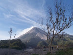 Merapi Mt after 2006 eruption