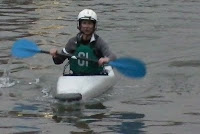 Janet Biggs, Artist/Kayak Polo-er