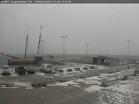 Longyearbyen harbor webcam shot