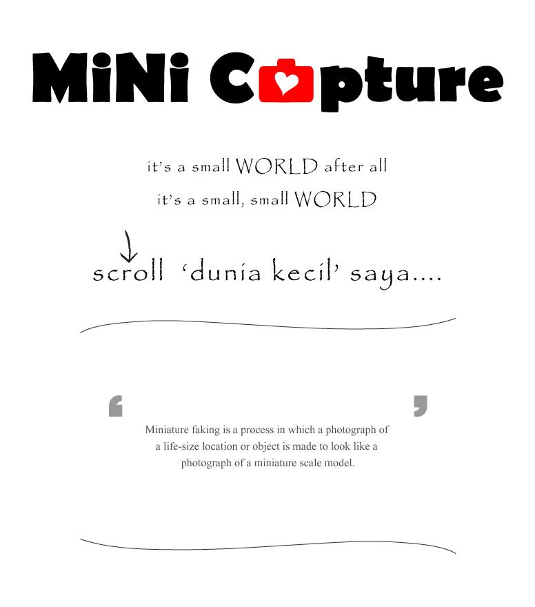i ❤ minicapture