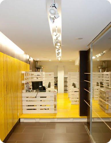 Lk reforma y ejecucion de revestimentos y mobiliario interior de oficinas a coru a - Mobiliario oficina coruna ...