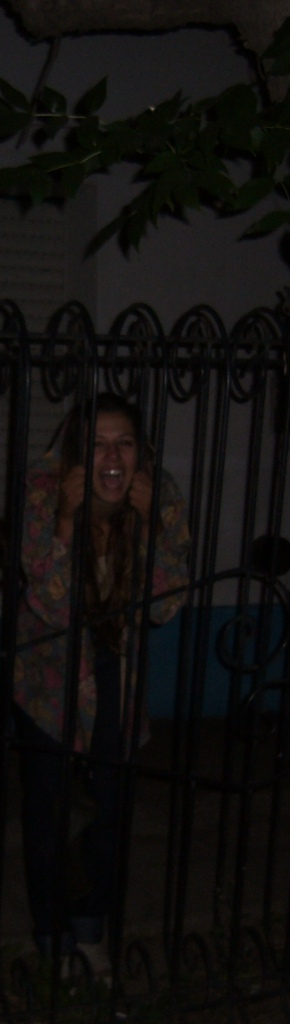 Coming out of my cage