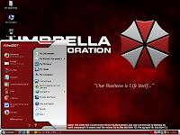 Umbrella Corporation Login Screen Wallpaper - How-To Geek