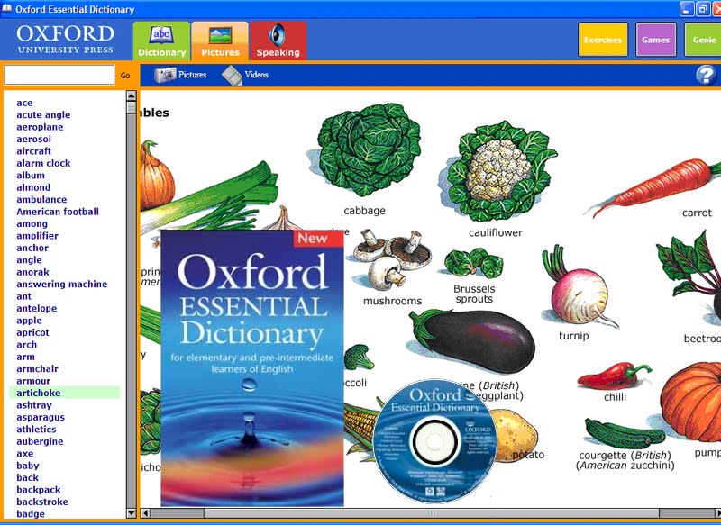 Oxford essential dictionary download