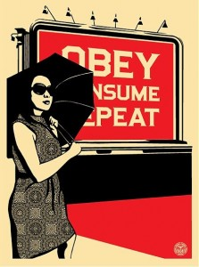 [obey+consume]