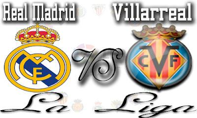 online: مشاهدة مباراة ريال مدريد وفياريال بث مباشر
