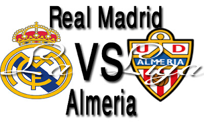 Online: Watch Real Madrid vs Almeria live stream|en vivo
