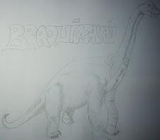 Mis dibujos - Braquiosaurio