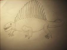 Mis dibujos - Dimetrodón