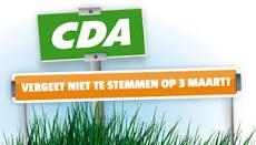 Stem CDA Gouda 3 maart!