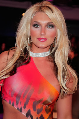 brooke hogan  2 Brooke Hogan See Through Dress