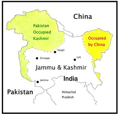 countries india jammu kashmir