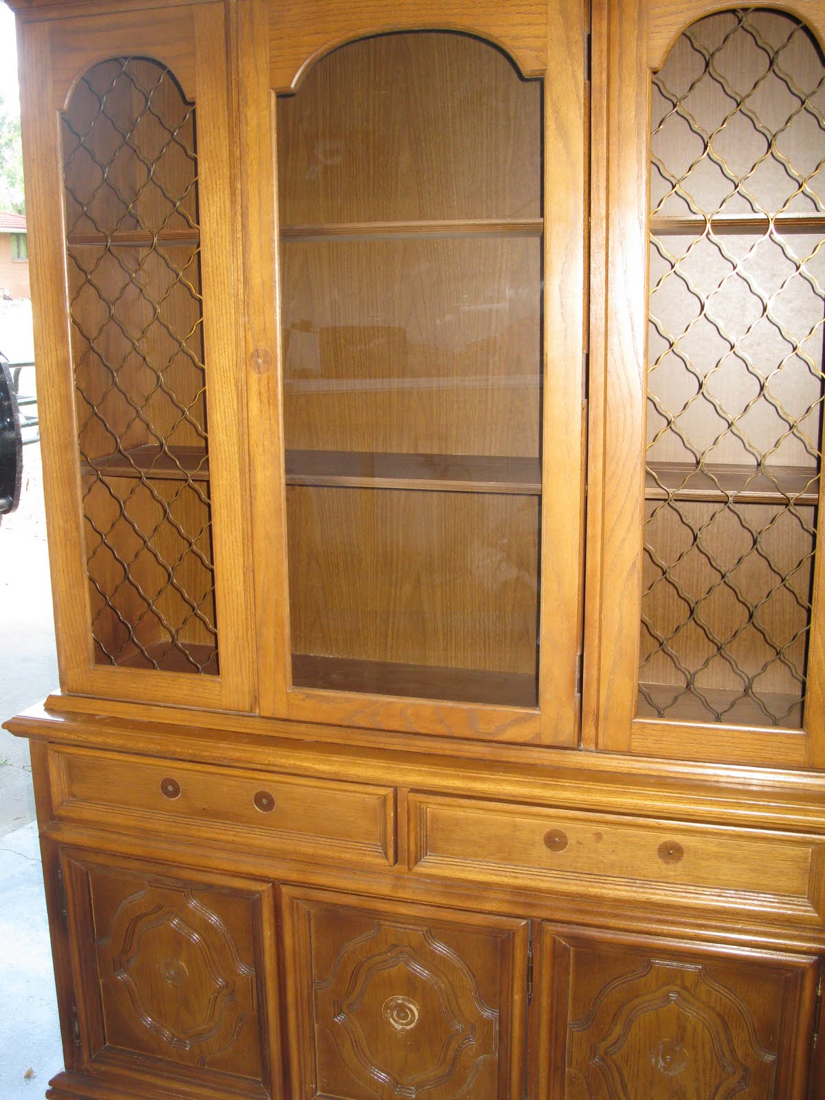 "thoughts from the wife of a ""wind farmer"": china cabinet"