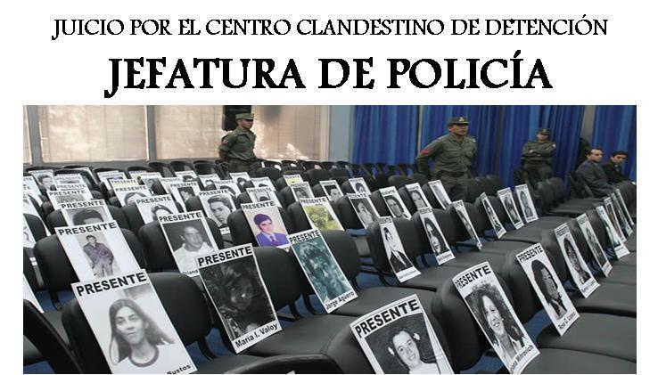 Juicio por el Centro Clandestino de Detención, Jefatura de Policía