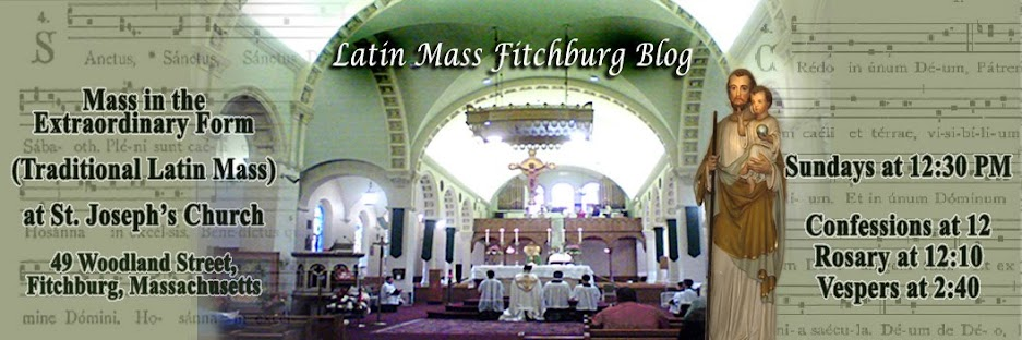 Latin Mass Fitchburg Blog
