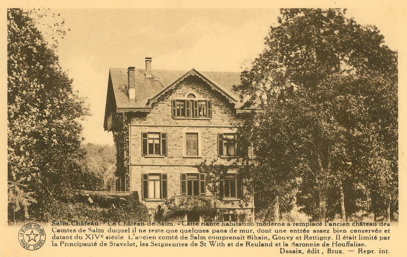 Grand Frais Ville Du Bois - Vielsalm et ses environs Salm Ch u00e2teau u2014 Le Ch u00e2teau de Salm