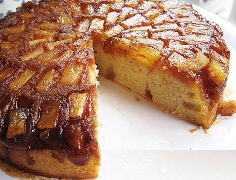 Pineapple Mango Upside Down Cake with a twist | Cake Zone