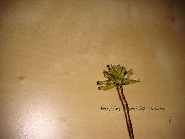 деревья из бисера мастер класс - Лучшие схемы и описания для всех.