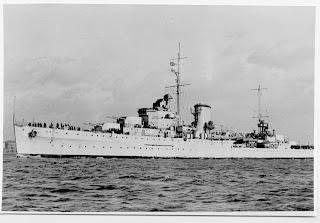 Crucero inglés Ajax