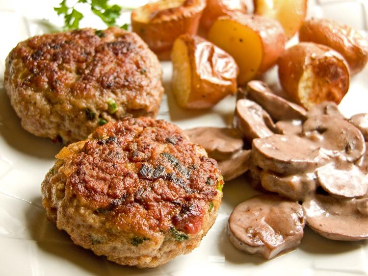 Cooking Weekends: Frikadellen; (Danish) Fried Meat Patties
