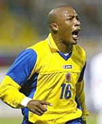 Edwin Congo, profesional en España