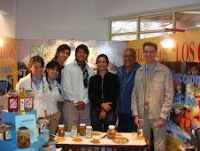 Alumnos y docentes en Alto Verde - San Martín