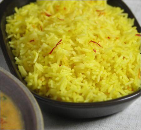 rice persian sour cherry saffron rice persian rice pilaf with saffron ...