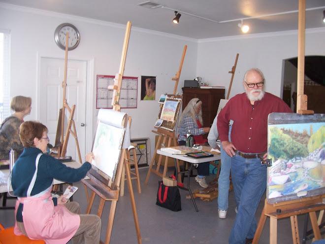 Oil Painting & Pastel Classes