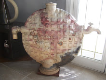 """Sewer Top Teapot"", Ceramic, Metal, by Babette Donaldson"