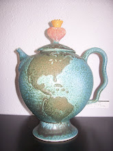 Earth Teapot, by Laddy Barnett, 2009