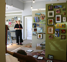 Resident Artists Hang 600 works