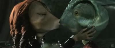 Rango - La escena del beso
