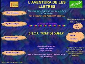 WEB DE L'AVENTURA DE LES LLETRES